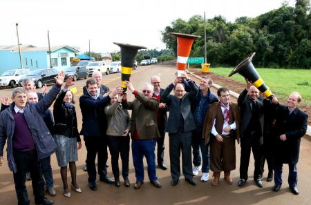 Governador do Estado realizou inaugurações no município