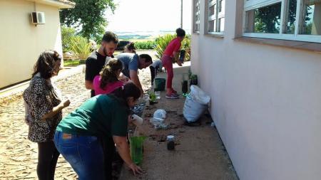 CRAS BEM VIVER desenvolve projeto Cultivando Hortaliças em Pequenos Espaços