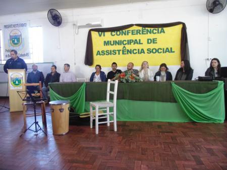 VI Conferencia de Assistência Social